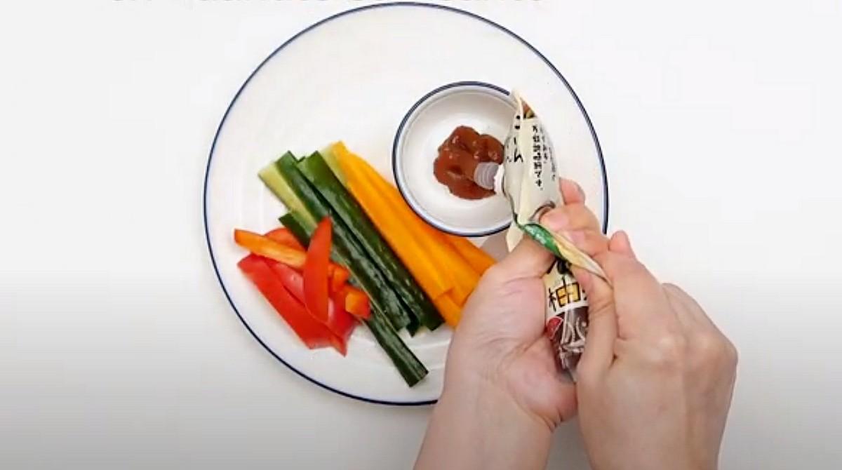 une sauce magique avec des légumes frais ©DR