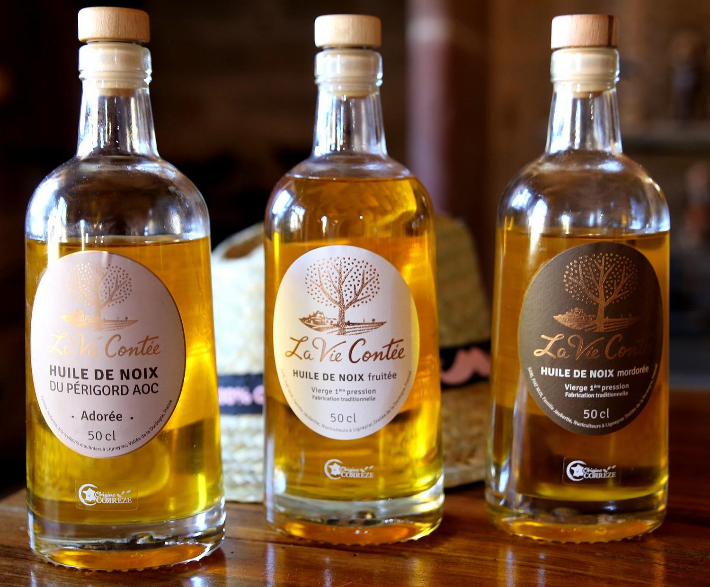 huile de noix La Vie Contee ©DR