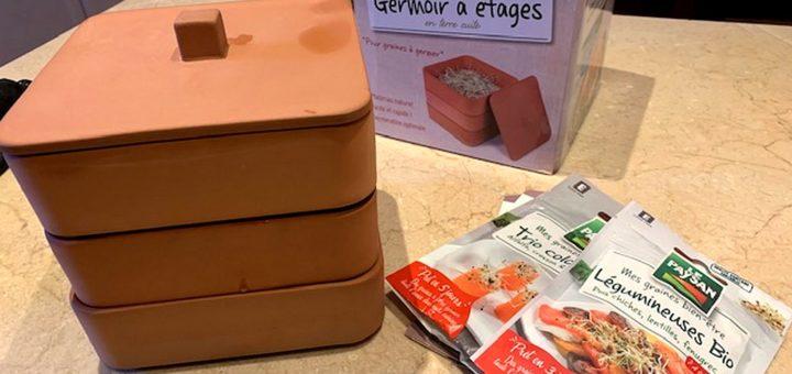 la découverte en ouvrant le colis ©T.Bourgeon/laradiodugout.fr