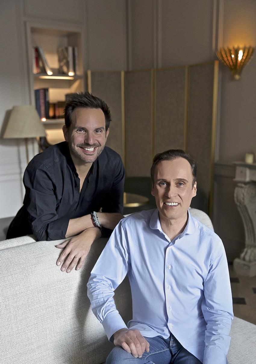 Nicolas Cloiseau et Christophe Michalak 2021 ©Delphine Michalak