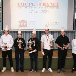 coupe de France Jeunes chocolatiers ©DR