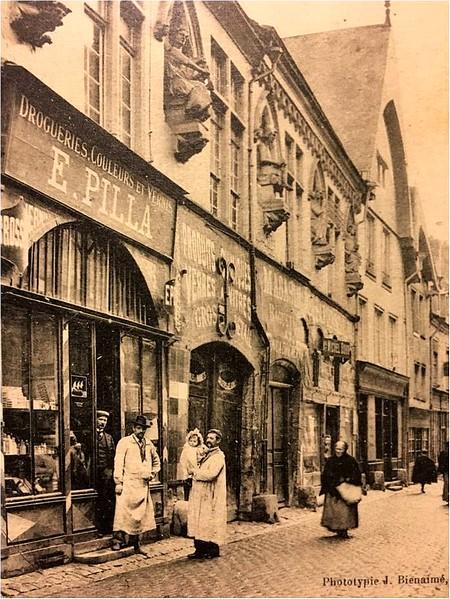 a maison des musiciens 1905-1910 ©DR
