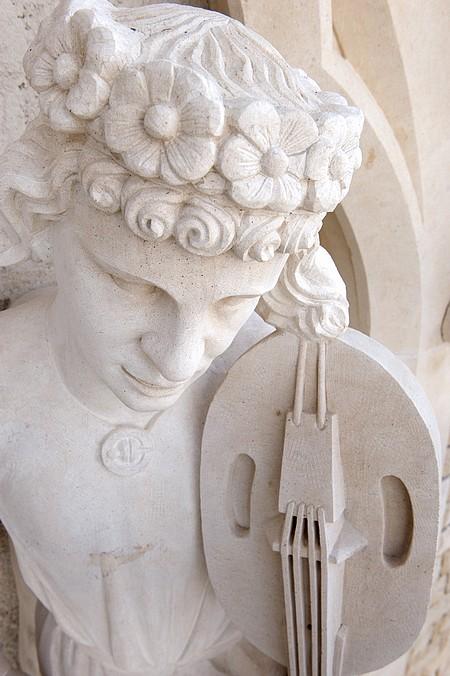 Maison des Musiciens, détails des nouvelles sculptures ©DR