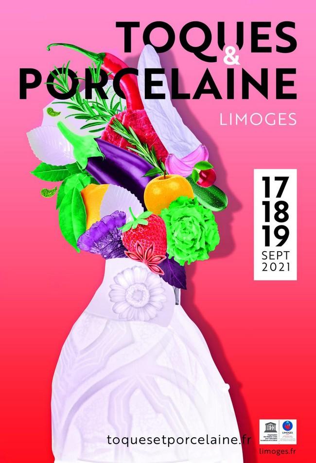 Toques & Porcelaine. 17-19 septembre 2021 . Limoges