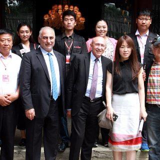Gérard Collomb en Chine