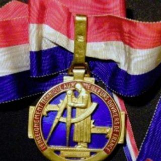 medaille MOF