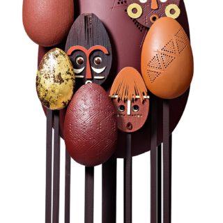 Oeuf Art Premier - Pâques 2019  © La Maison du Chocolat