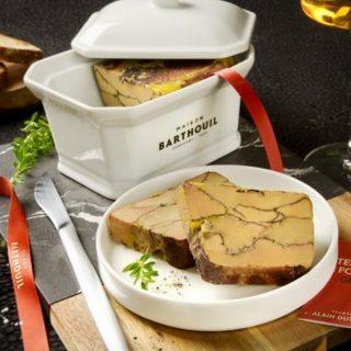 Foie gras grillé dans sa porcelaine
