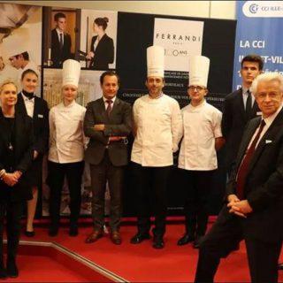 L'école Ferrandi a monté le projet de Rennes en partenariat avec la CCI d'Ille-et-Vilaine, la CCI de Paris-Ile de France, et l'hôtel-spa 5 étoiles Le Balthazar. | OUEST-FRANCE