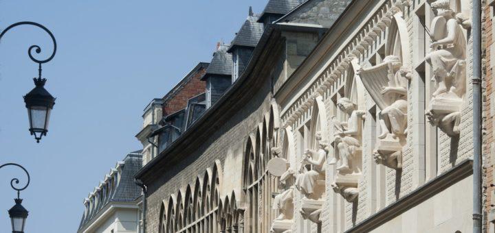 La façade de la Maison des Musiciens©DR