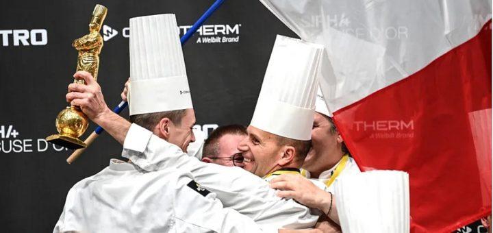 La France a remporté lundi 27 septembre la finale du prestigieux concours culinaire du Bocuse d'Or, organisé près de Lyon. © AFP - OLIVIER CHASSIGNOLE